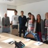 Sept nouveaux internes au Centre hospitalier de Millau