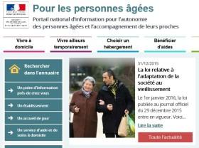 Un nouveau site internet dédié aux personnes âgées