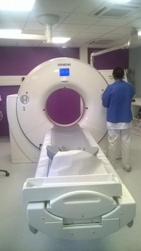 Le CH se dote d'un nouveau Scanner SIEMENS